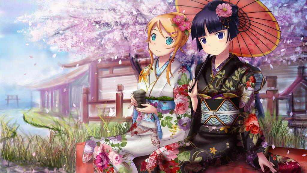 Image result for anime spring picture