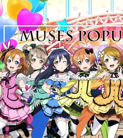 Muses Popularity Poll | LOVE LIVE! Amino
