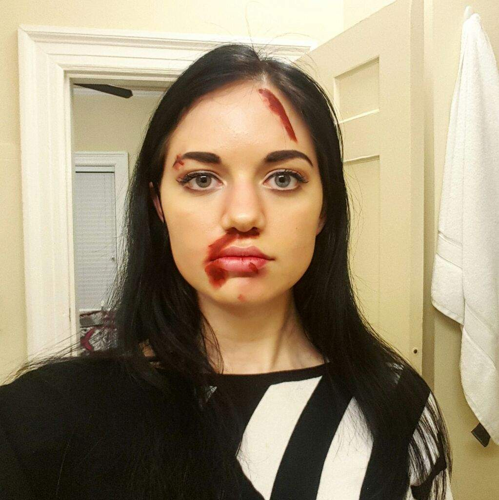 meg masters 20 makeup test supernatural cosplay amino
