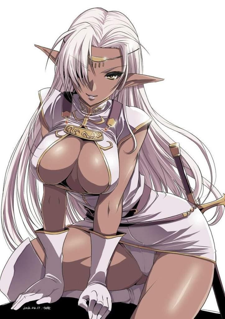 Dark Elf Anime Girls Anime Amino