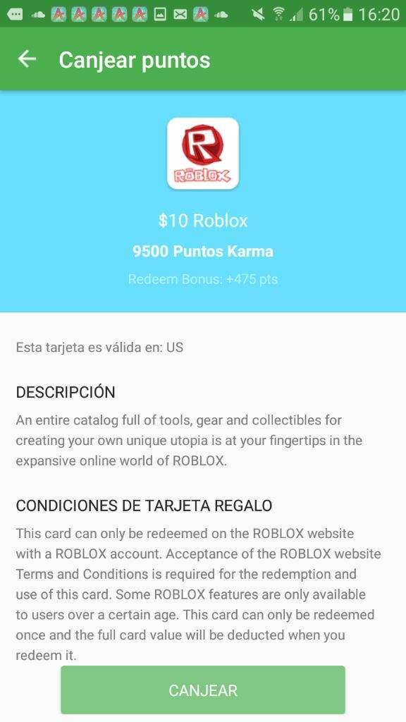 crear tarjetas de regalo robux gratis