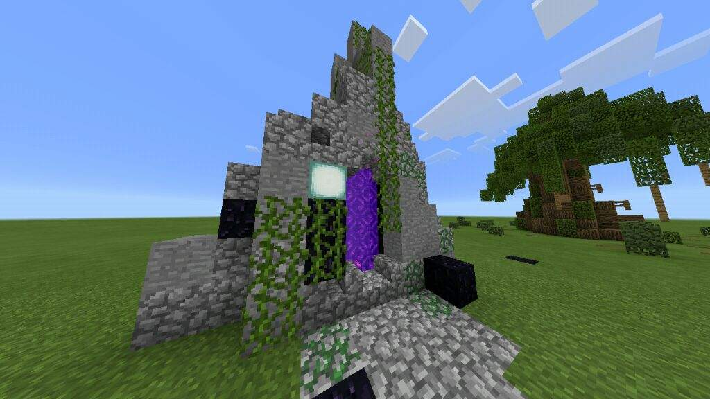minecraft how to build portal nether