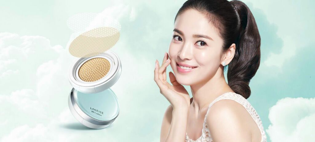 Laneige Pore Control Cushion Vs Nakeup Face Coverking Cushion Review