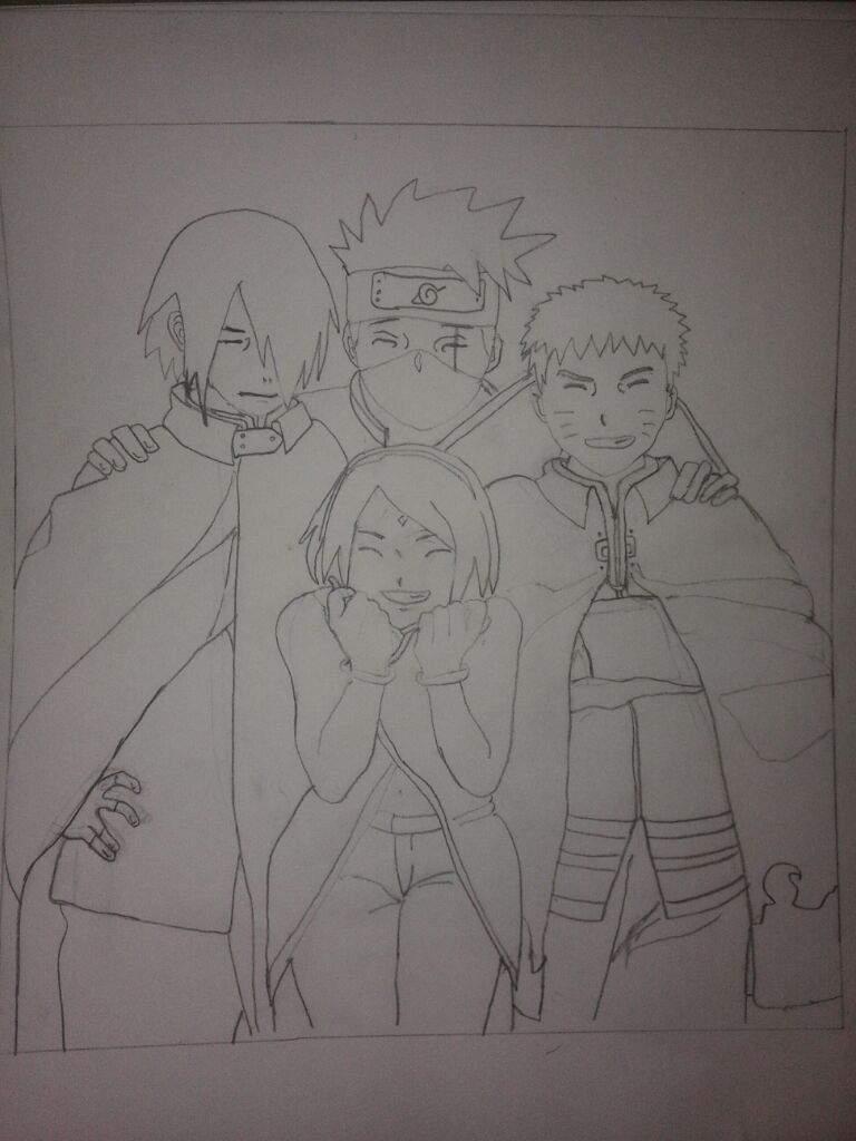 The pencil sketch