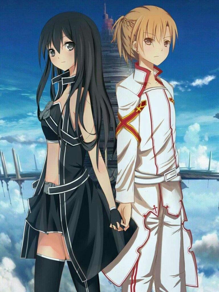 Kirito And Asuna  Saoswordartonlineamino Amino-4774