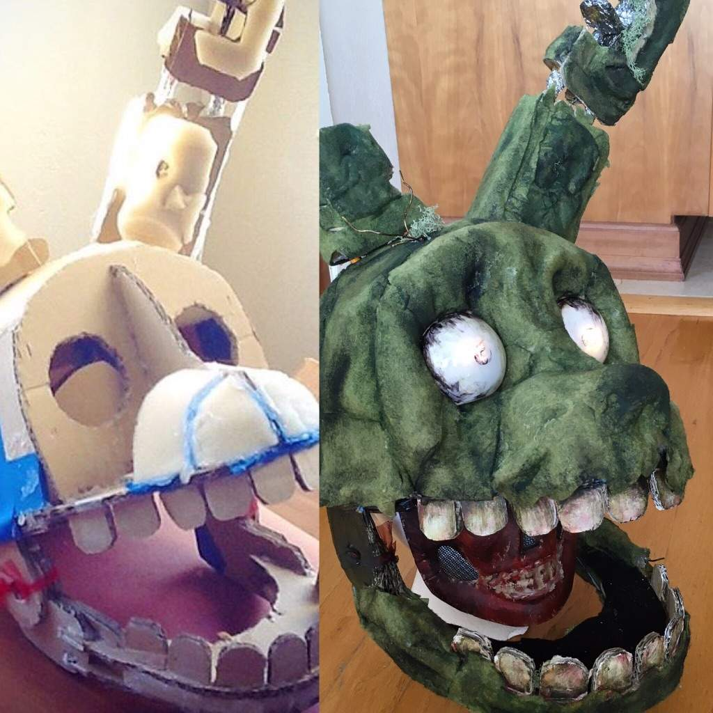 how to make springtrap costume five nights at freddys amino