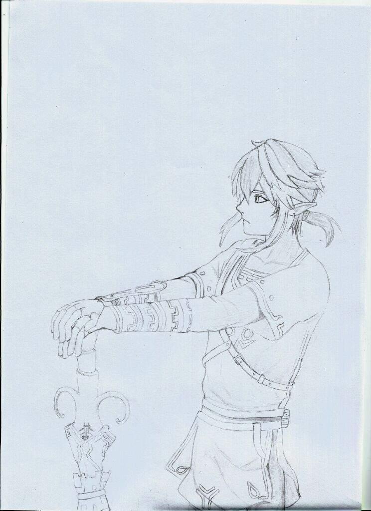 Desenho Link Zelda Breath Of The Wild Parte 1 2 Cla Kuuhaku Amino