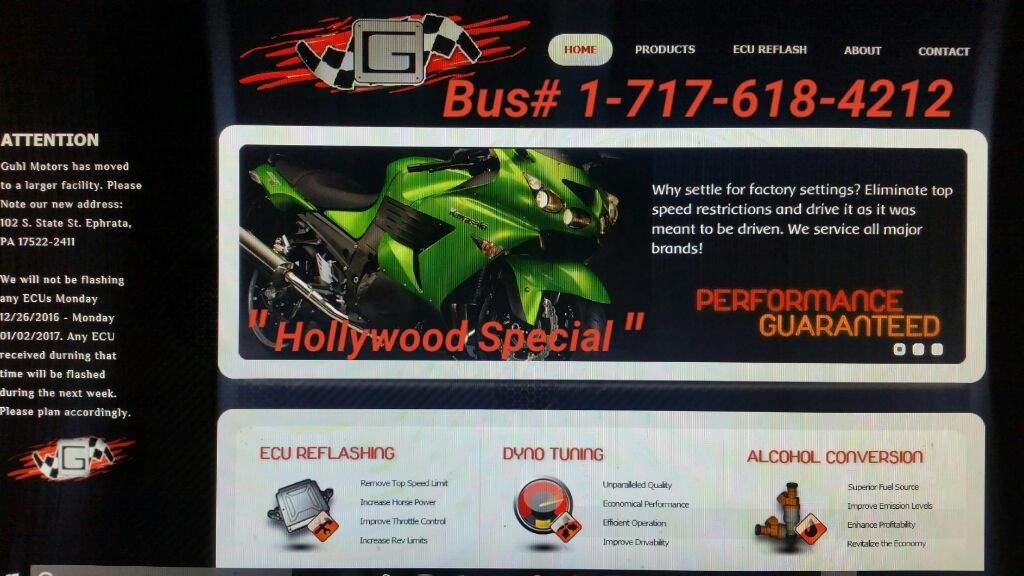Guhl Motors ECU Flash! | Motorcycle Amino Amino