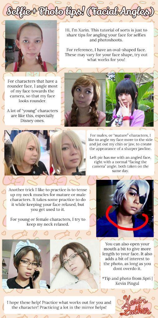 Tips And Tricks Facial Angles For Photos Cosplay Amino