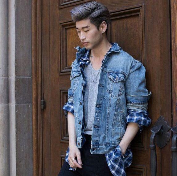 Styling Denim Jacket Korean Fashion Amino