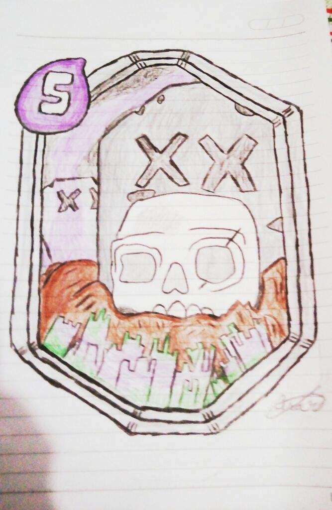 desenho do cemitério clash royale amino oficial amino