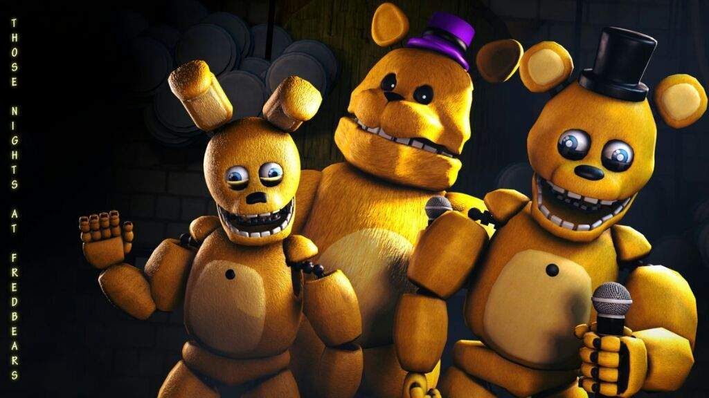 Awesome fredbear and spring bonnie wall paper i found with spring