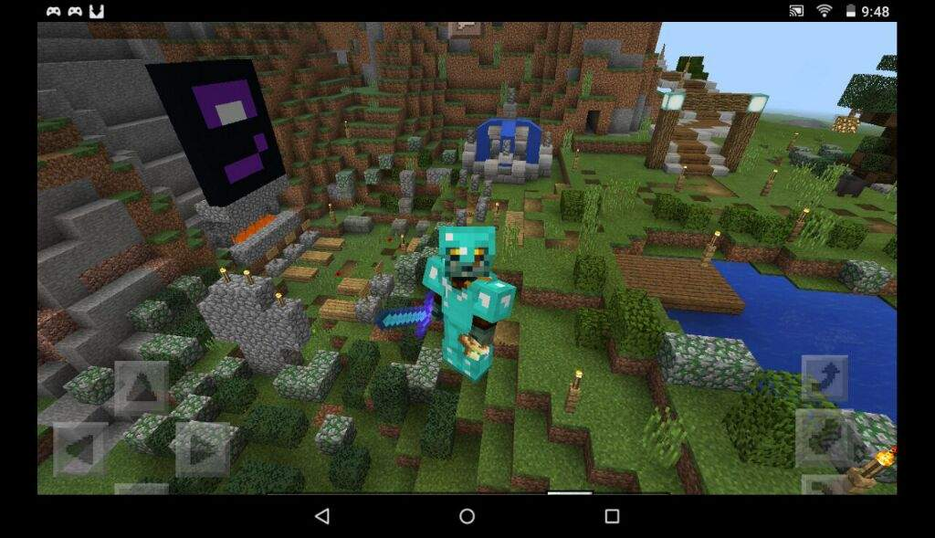 Hey my name is Kristi and i play mcpe (minecraft pocket edition) its