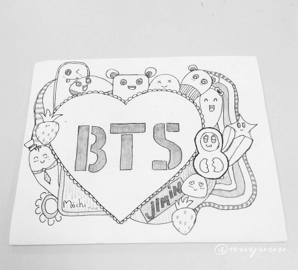 BTS Doodle Art❤ | ARMY\'s Amino