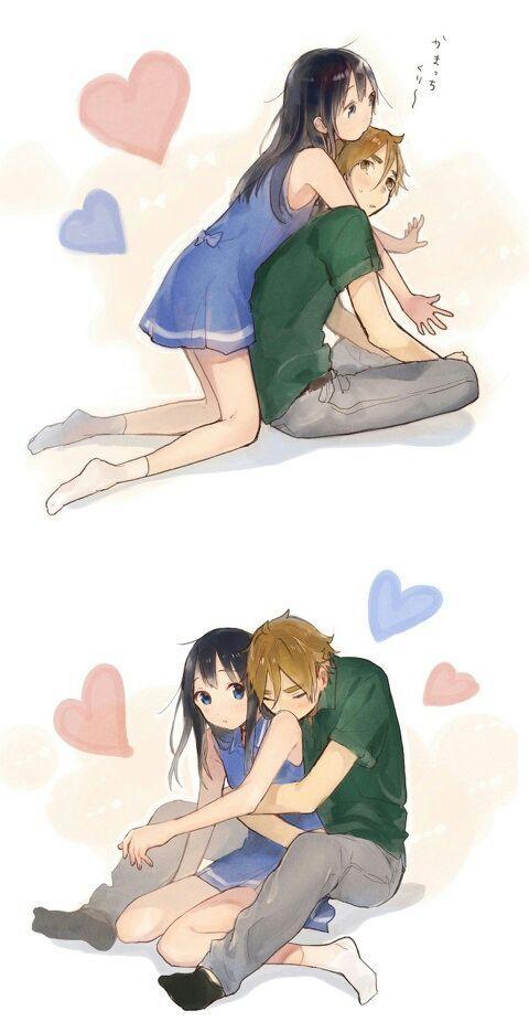 Surprise back hug initiate ) | Anime Amino
