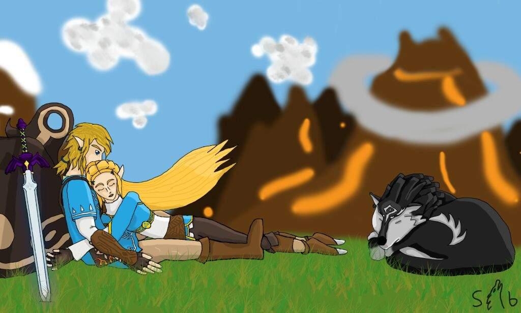 Breath Of The Wild Fanart Botw Spoilers Zelda Amino