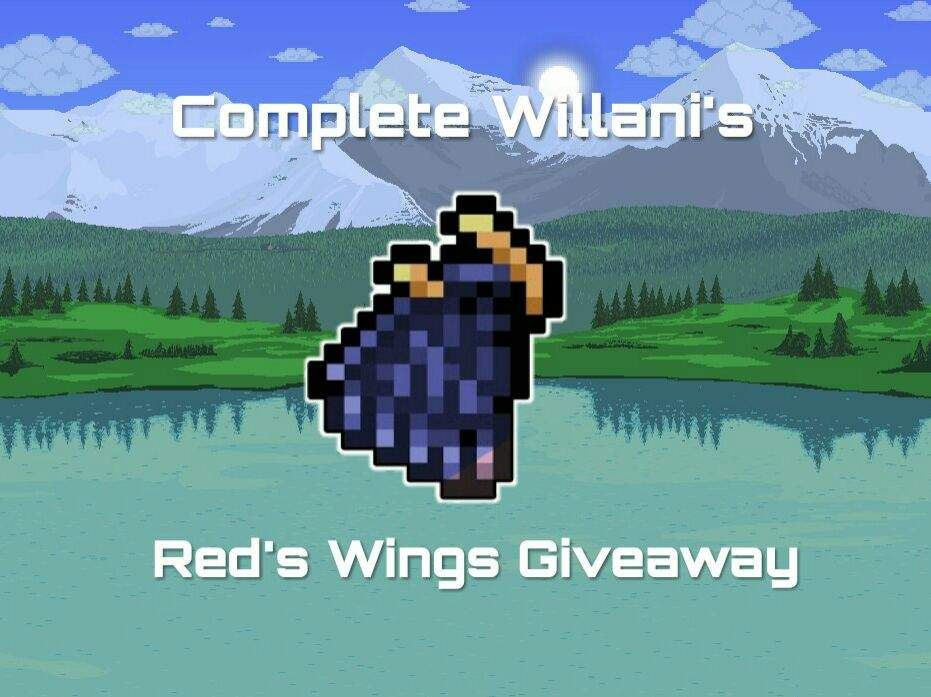 Red's Wings Terraria Xbox One Edition Giveaway | Terrarian Amino