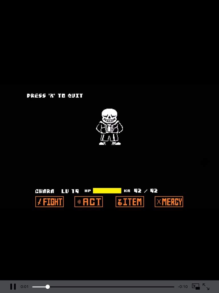 Sans simulator hard mode | Undertale Amino
