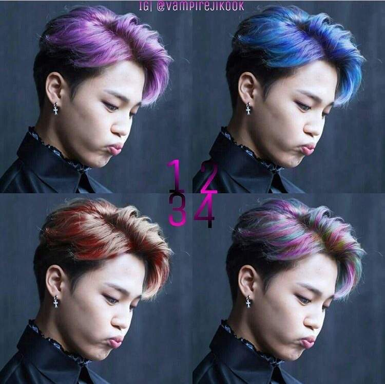 Best Hair Color Edit On Jimin Armys Amino