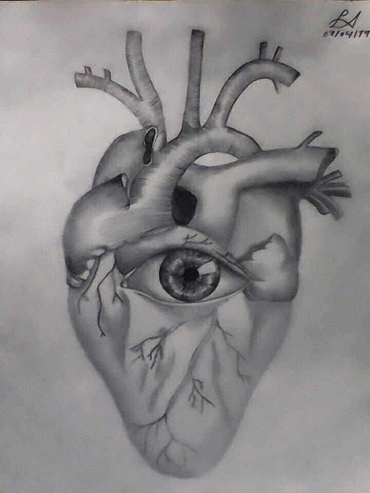 Corazón Humano Arte Amino Amino