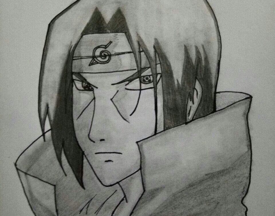 Drawing Of Itachi Uchiha Naruto Amino