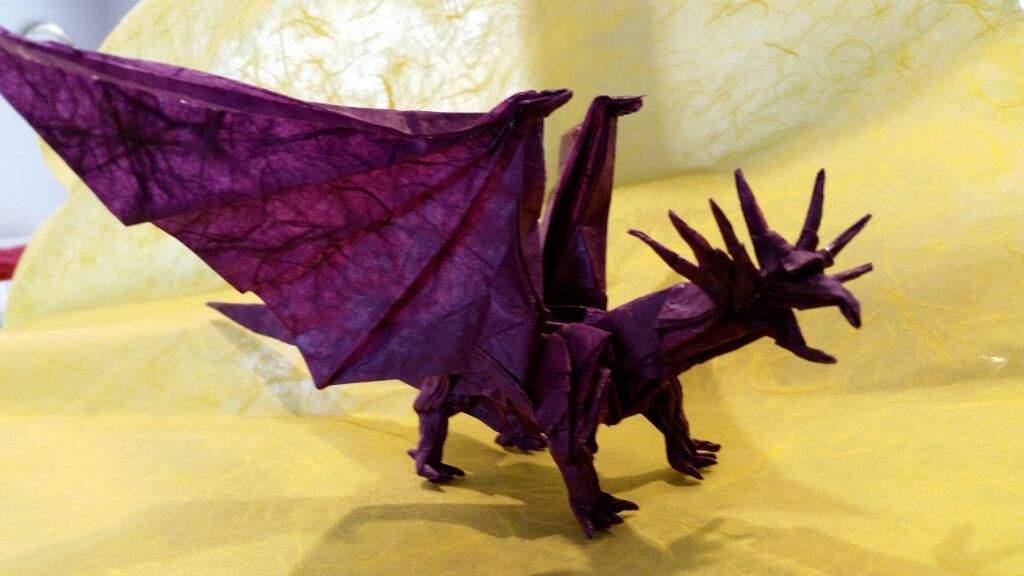 Ancient Dragon Satoshi Kamiya Origami And Paper Crafts Amino