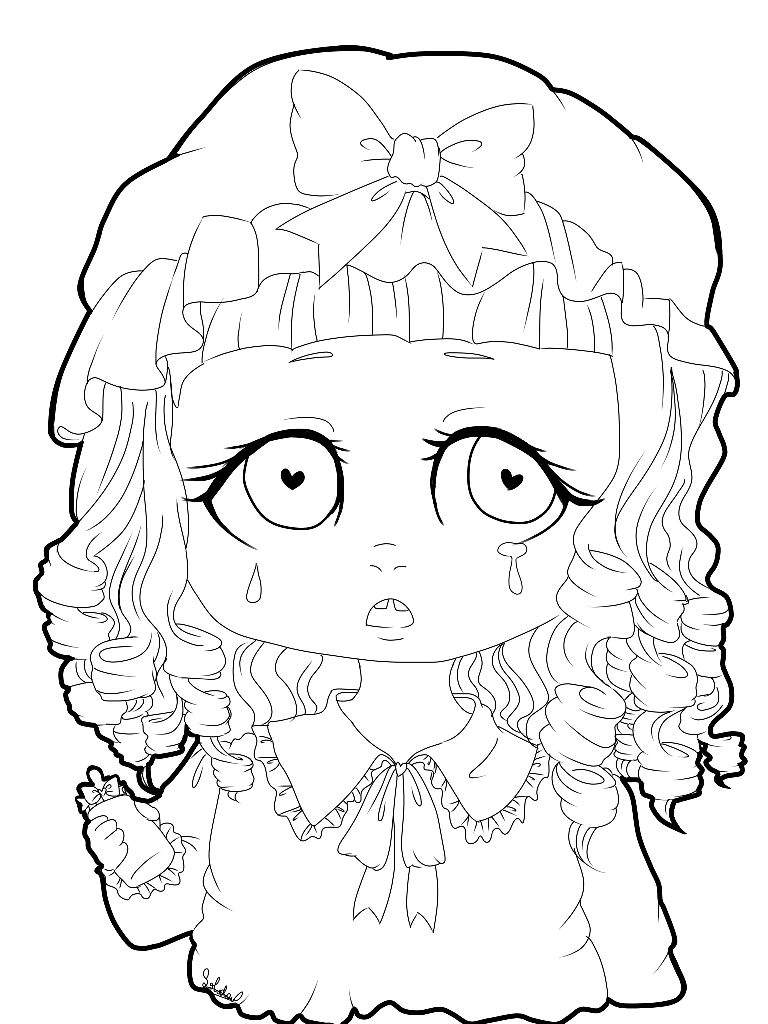 Melanie Martinez Fan Art Coloring Book Crybabies Amino