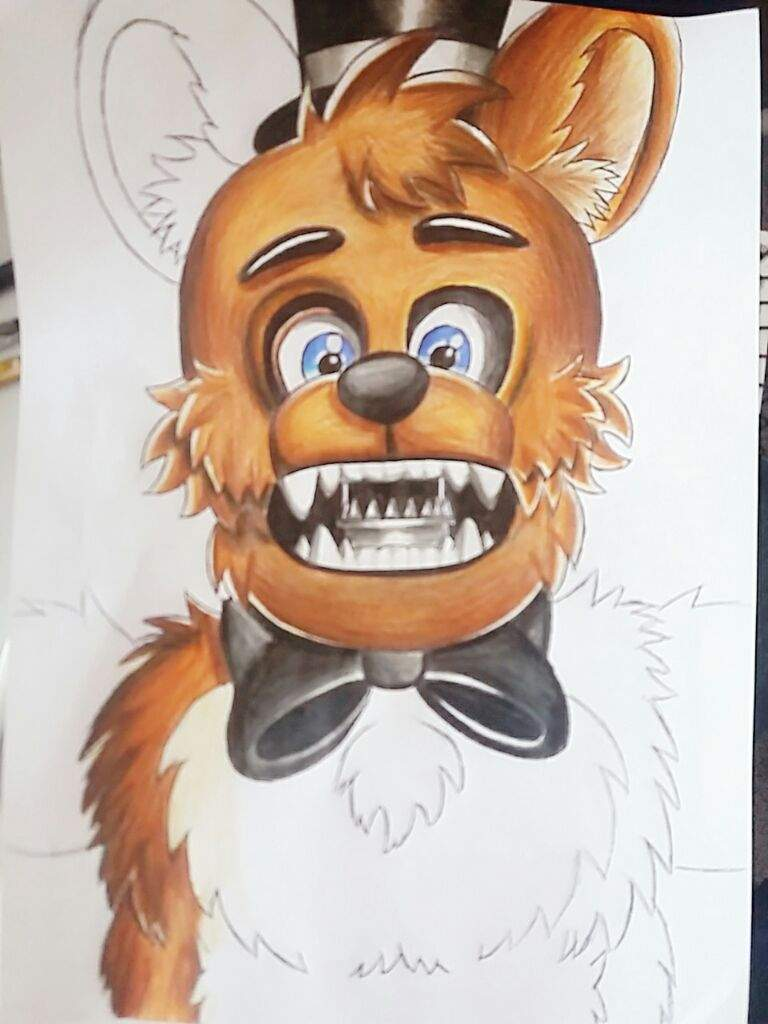 Withered Freddy • FNaF 2 • Drawing | Five Nights At Freddy's