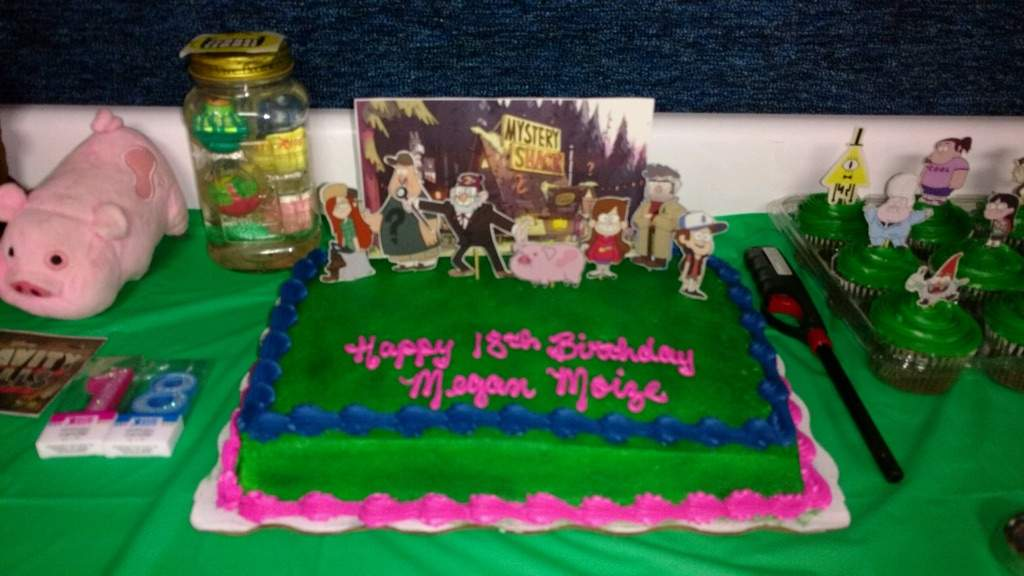 My birthday party Gravity Falls Amino