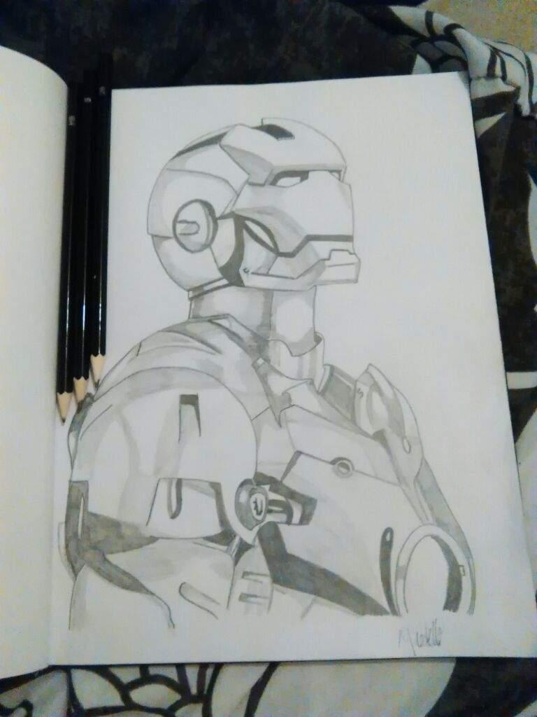 Iron Man Sketch Art Amino