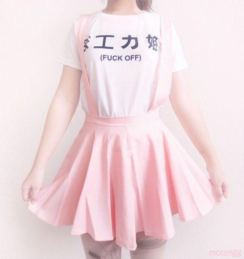 Pink Aesthetic Outfitsud83cudf38 | Korean Fashion Amino