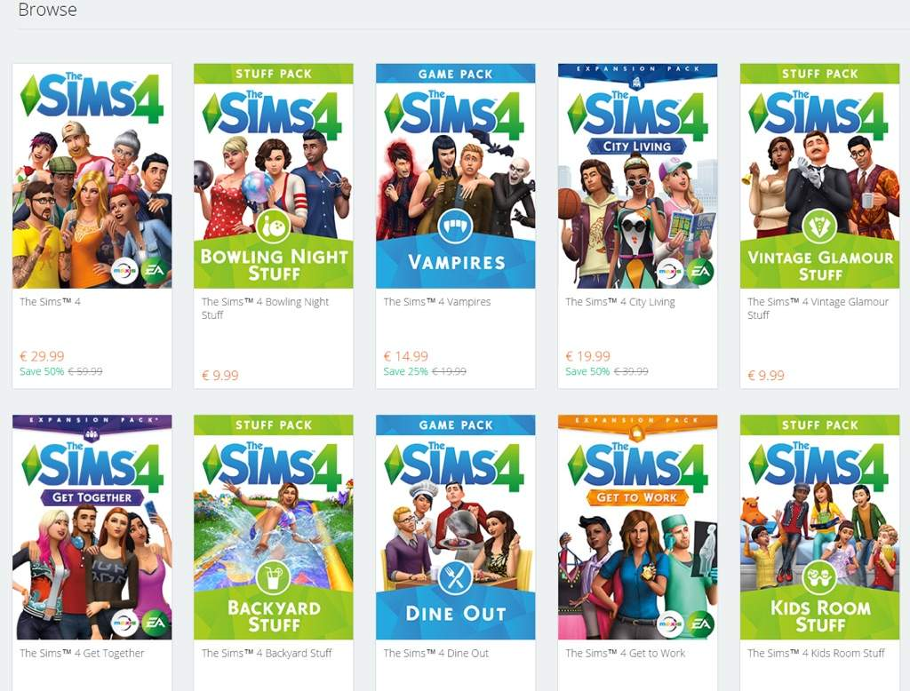origin sale save up to 60 on games the sims 4 included sims