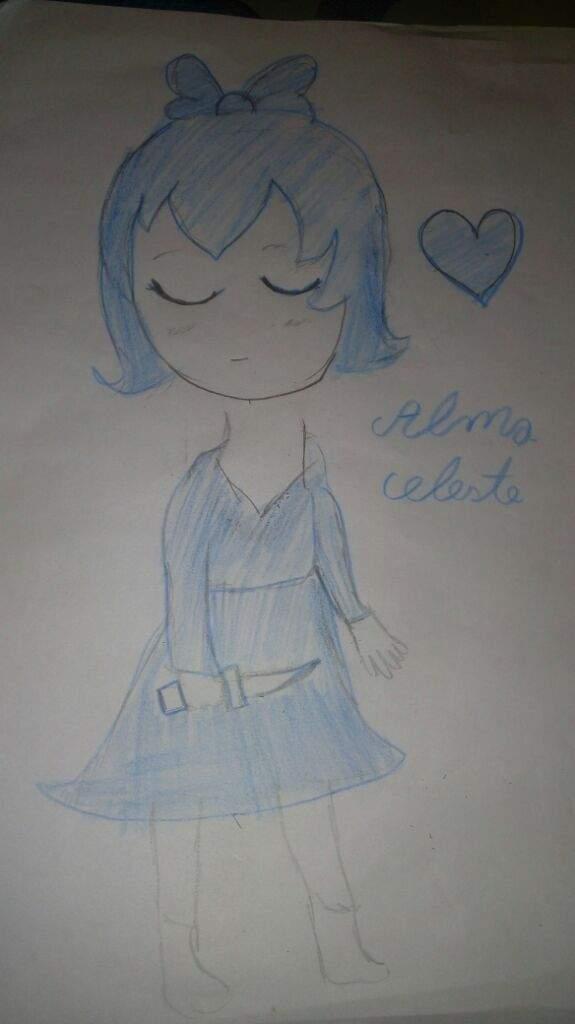 Dibujo Para Mi Hermana Alma Celeste Undertale Español Amino