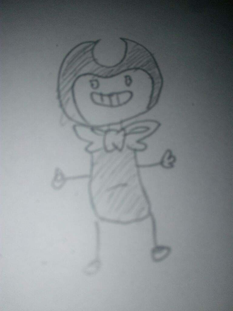 The best bendy drawing the whole world ever seen