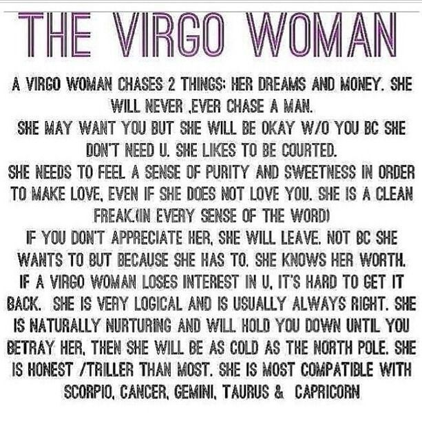 About virgos things All About