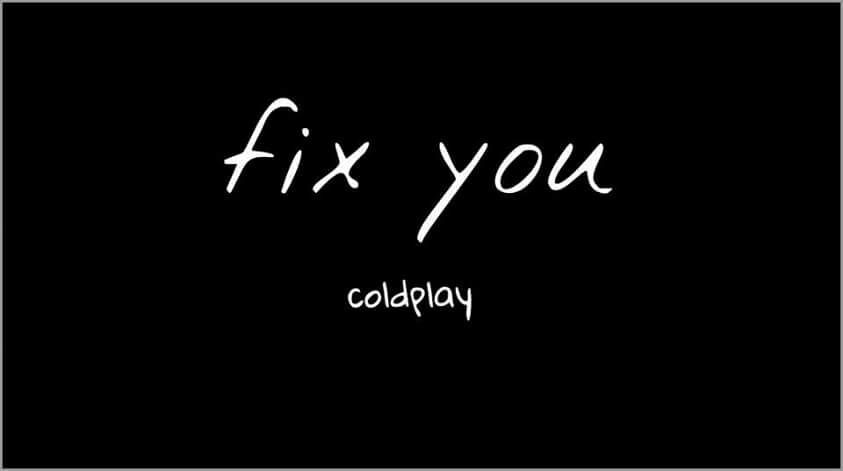 You fix