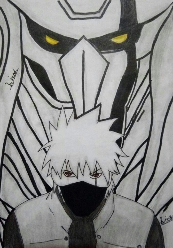 Kakashi Susanoo Art Naruto Amino