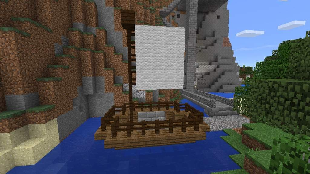 Mountain Side House Minecraft Amino