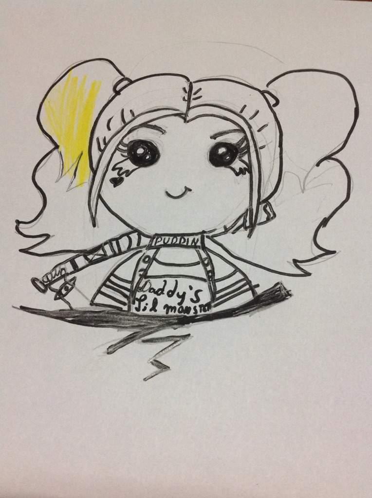 Desenhos De Arlequina Kawaii