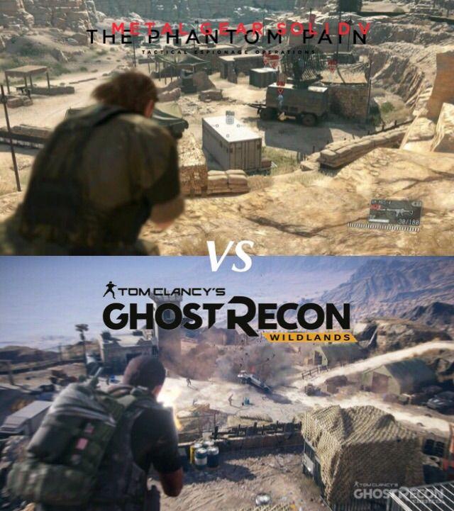 Ghost Recon Wildlands Vs Metal Gear Solid V: The Phantom