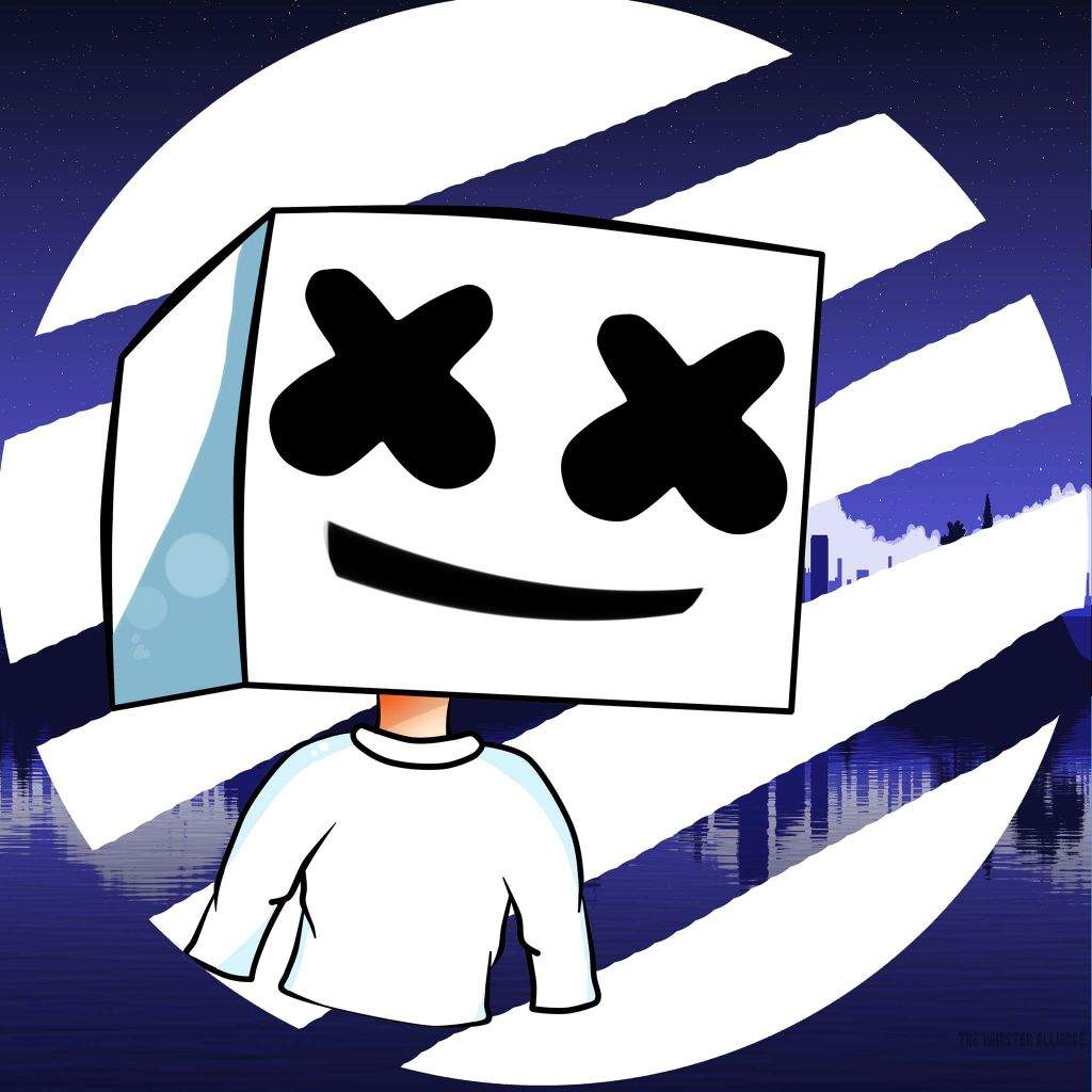 Marshmello Dibujo Logo