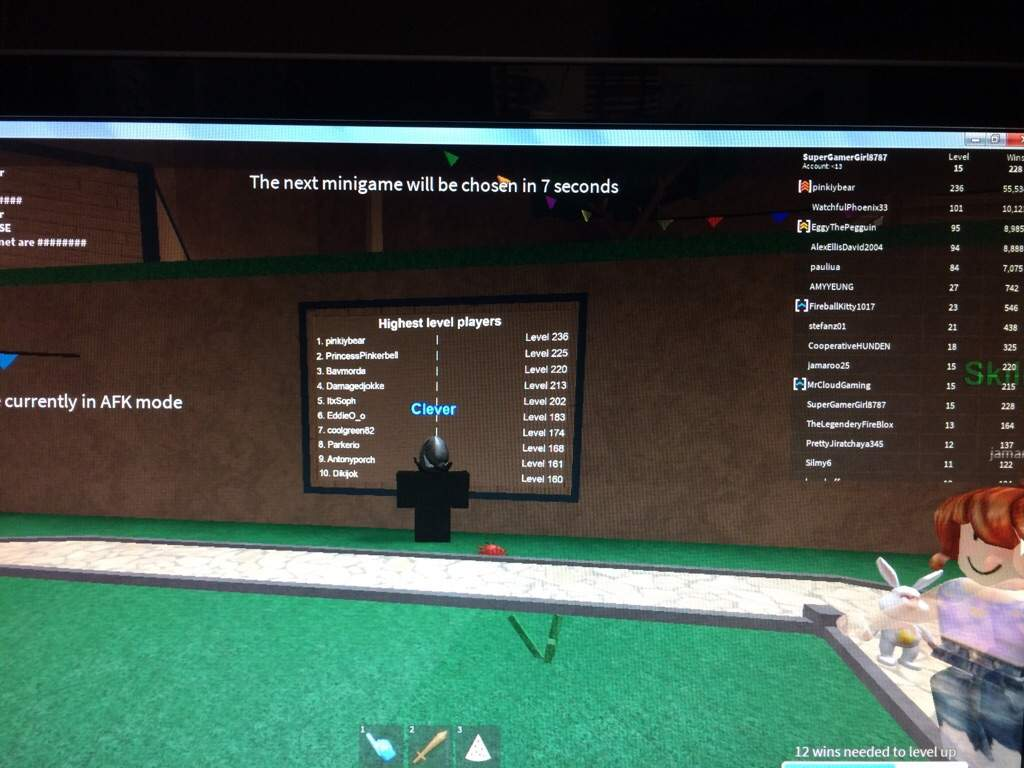 Fist Person On The Leaderboard Is In My Server Roblox Amino