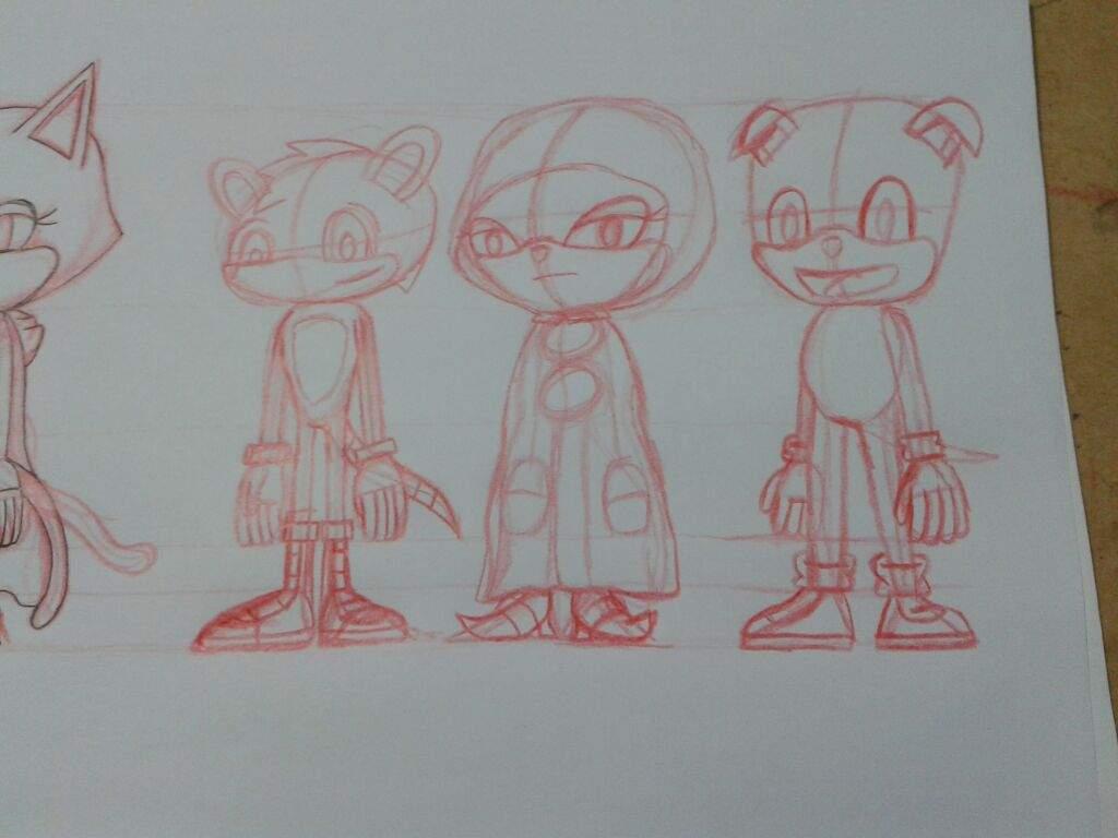 Como dibujo a los FC y personajes de Sonic   Sonic the Hedgehog ...