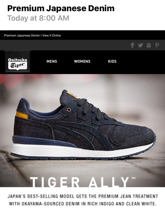 pretty nice 16929 cea21 Onitsuka Tiger: Tiger Alley Denim | Sneakerheads Amino