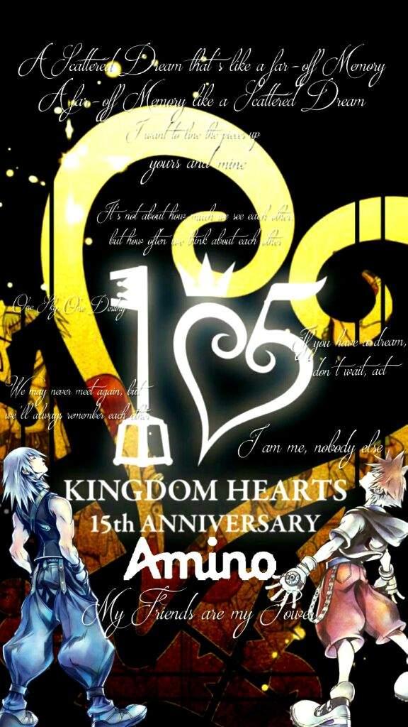 15th Anniversary Background Kingdom Hearts Amino