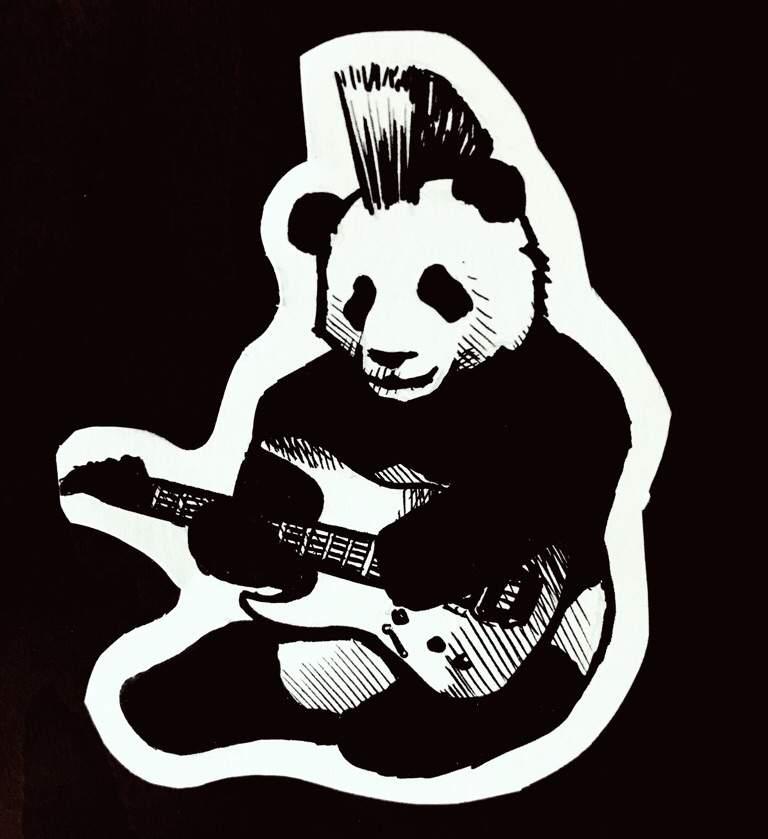Punk Rock Panda | Art Amino