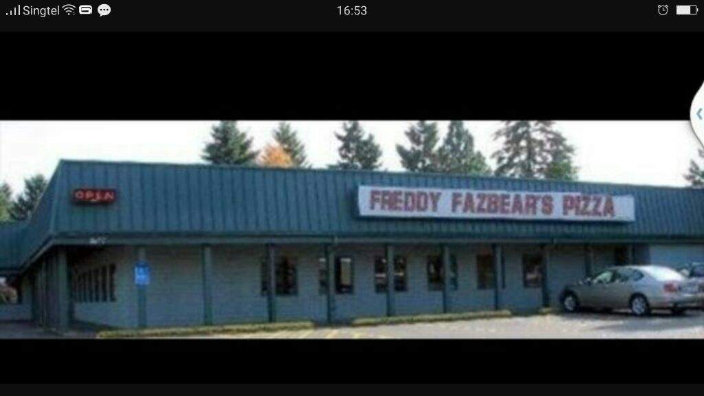 Omg Freddy Fazbears Pizza Is Real And It S In Canada Five Nights