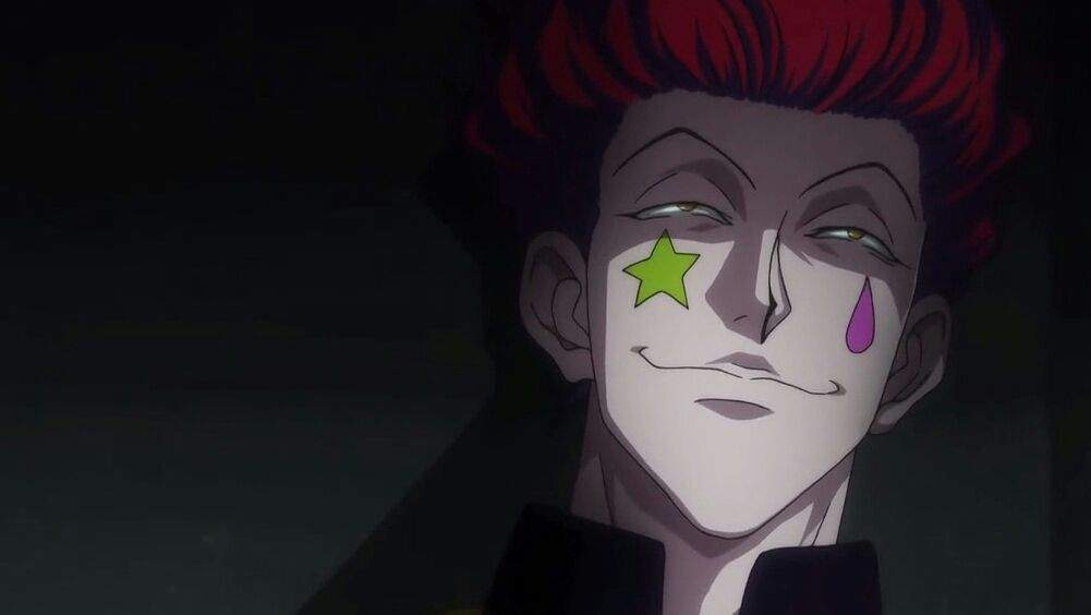 1999 Anime Series Hisoka Had Light Teal Hair But Later It Was Changed To Red In The 2011 He Has And Yellow Eyes From Beginning