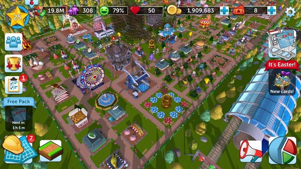 My Park On RollerCoaster Tycoon Touch | Gamer Girls United Amino
