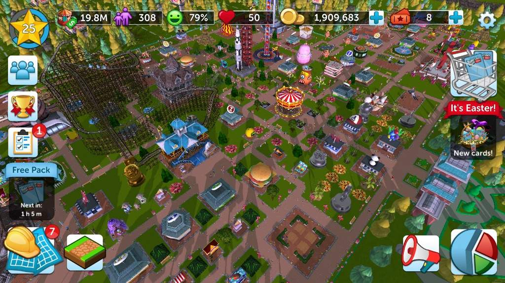 My Park On RollerCoaster Tycoon Touch   Gamer Girls United Amino